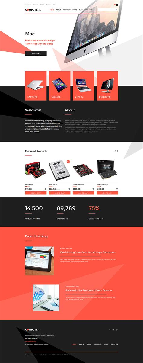 woocommerce templates template 57763 ensegna themes