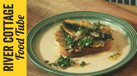 tim river cottage smoked sardines on toast recipe tim maddams river