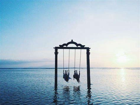 sea swing this sea swing is one of the world s best spots for sunset