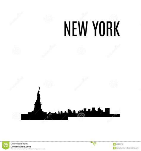 libro new york city landmarks new york city skyline black and white illustration vector cartoon vector cartoondealer com