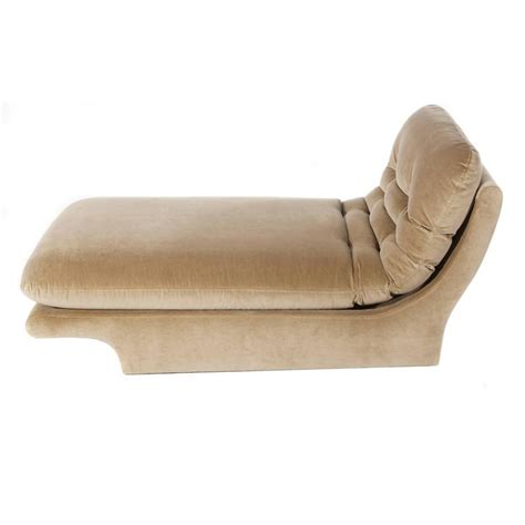 upholstered chaise lounge fully upholstered 1970s chaise lounge by preview furniture