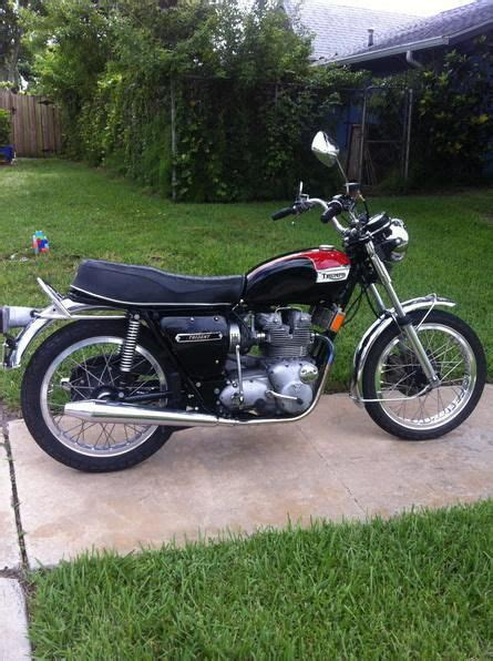1974 vintage triumph trident motorcycle t150 for sale on 2040 motos