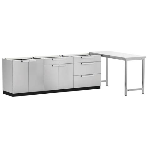Outdoor Sink Cabinet Stainless Steel by Newage Products Stainless Steel Classic 4 160x36x24