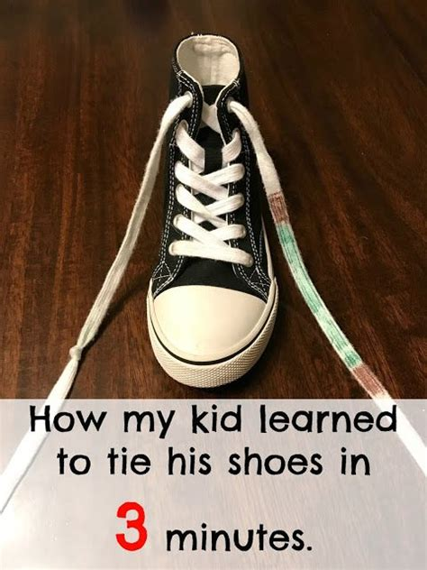 how to teach a kid to tie their shoes best 25 tying shoes for teaching ideas on