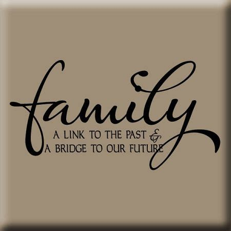 theme quote exles family reunion themes link to our past wall decal