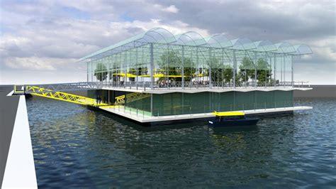 floating farm  rotterdam prima fattoria galleggiante