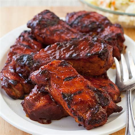 cooking country style ribs on the grill barbecued country style ribs cook s country