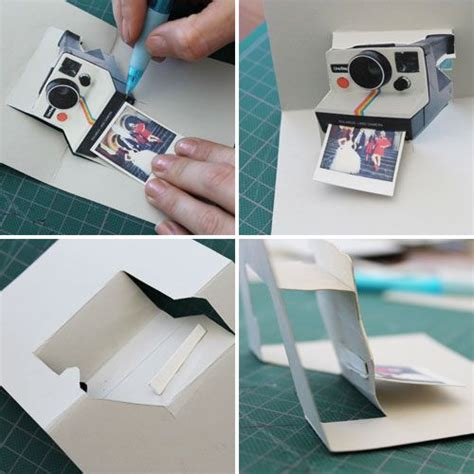 Diy Polaroid Pop Up Card Template by Pop Goes The Diy Pop Up Name Card Wedding Anniversary