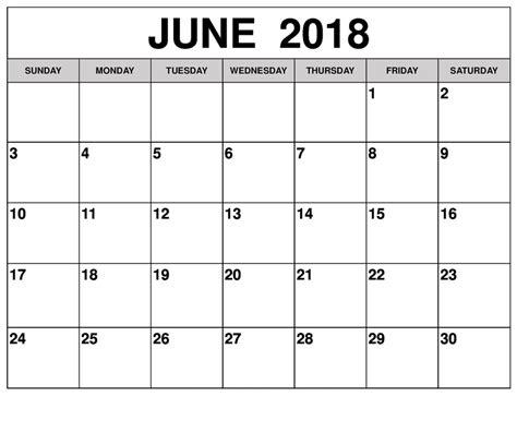 printable calendar add events june 2018 calendar printable template pdf holidays word excel