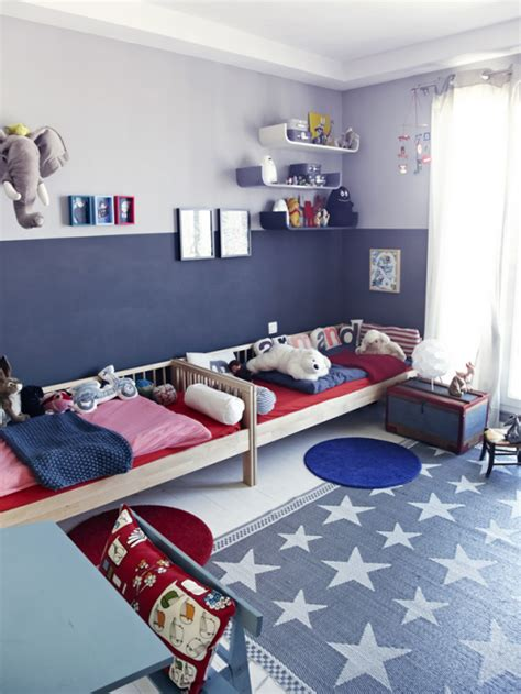 boys blue and red bedroom red white blue boy s room happy july 4th simplified bee