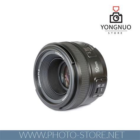 Yongnuo Ef 50mm F 1 8 Yongnuo Ef Yn 50mm F 1 8 1 1 8 Standard Prime Lens