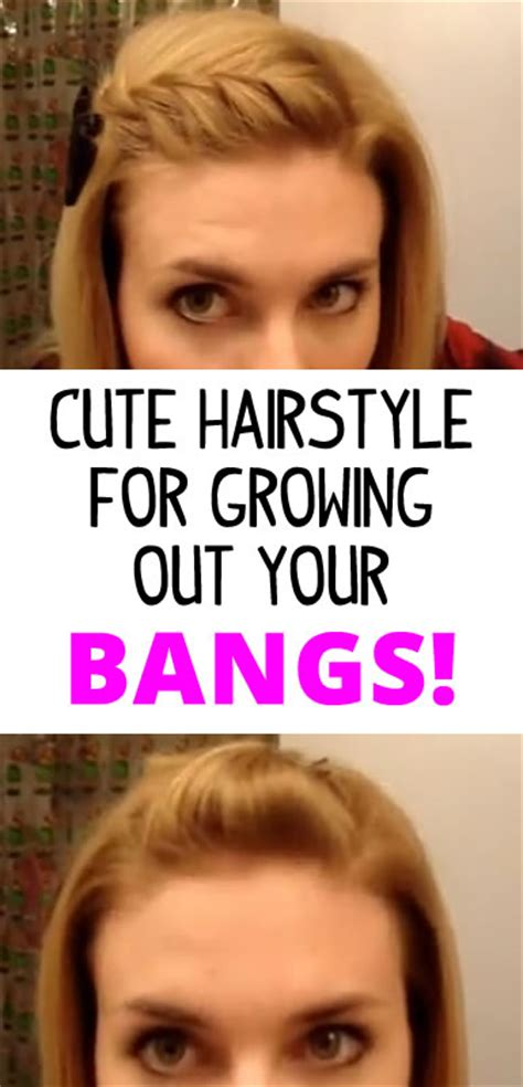 hairstyles while growing out your bangs how to style your hair while growing out bangs fake bangs