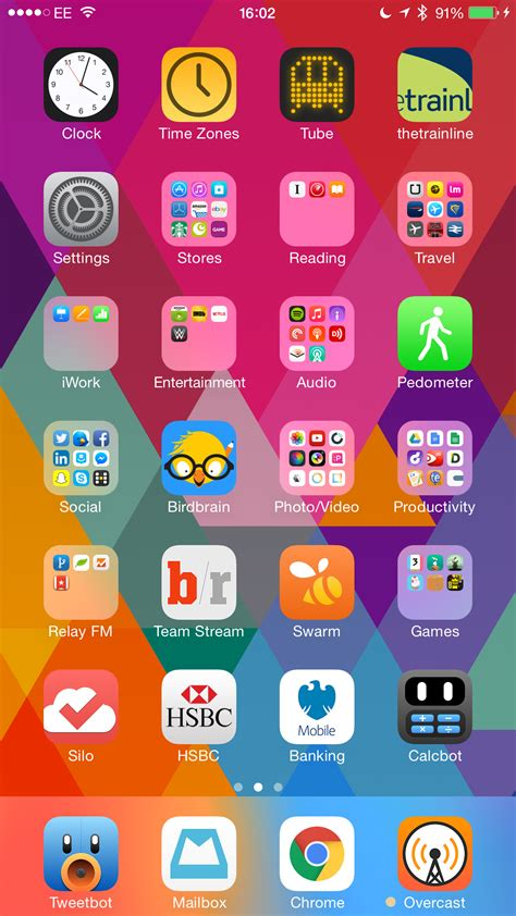 change layout home screen iphone 4 organizing your iphone homescreen techdissected