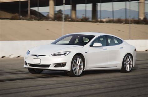 Fastest Tesla Car Tesla Model S P100d Is The Fastest Production Sedan In The
