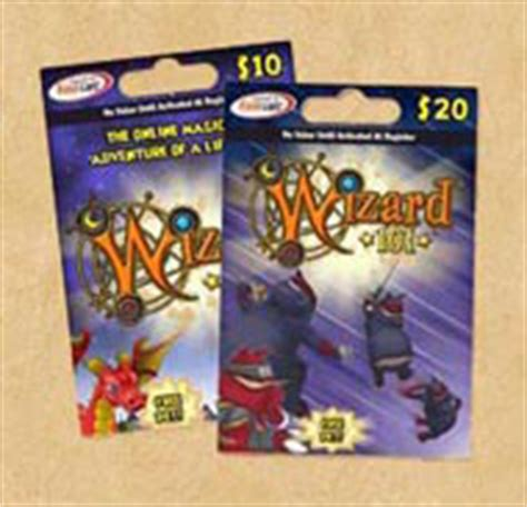 Online Game Gift Cards - prepaid game cards gift certificates wizard101 free online game