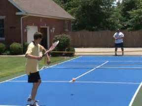 Backyard Basketball Game Mini Tennis Court Quick Start Court By Versacourt Youtube