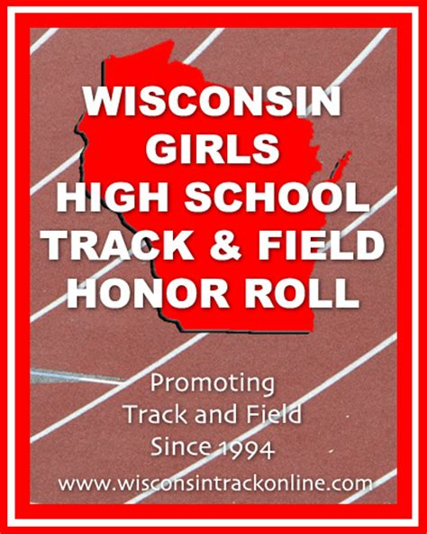 wisconsin boys high school track and field honor roll wiaa track honor roll 2016 new style for 2016 2017