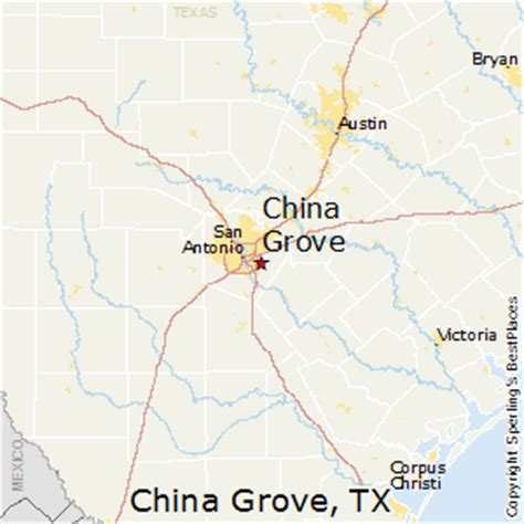 grove texas map best places to live in china grove texas