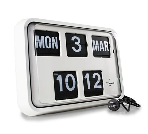 Calendar Clock Jadco Time Reserve Power Calendar Clock Jadco Time
