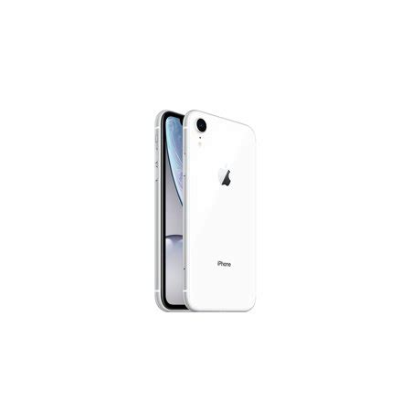 apple iphone xr 64gb white lte cellular talk tracfone mryt2ll a tf walmart
