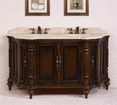 brown bathroom vanity 67 inch sink bathroom vanity in antique brown