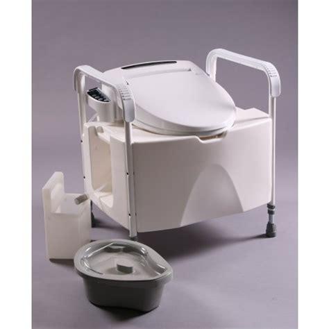 bidet mobil toiletstoel inclusief bidetsysteem