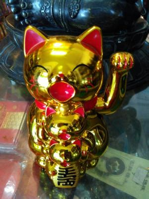 Patung Dewa Kwan Kong Emas Sepuh jual patung dewa kucing emas 3 dhammamanggala
