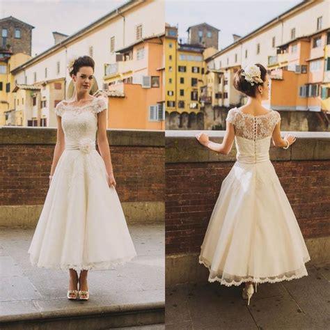 Hochzeitskleider Abendkleider by 2016 A Line Spitze Kurz Hochzeitskleid Abendkleid
