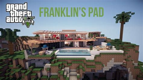 gta 5 haus kaufen gta v franklin s pad map 1 12 2 1 11 2 for minecraft