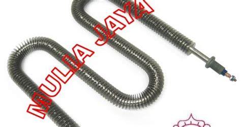 Kabel Tahan Panaskabel Heater Diameter 4mm mulia jaya finned tubular heater w u i form
