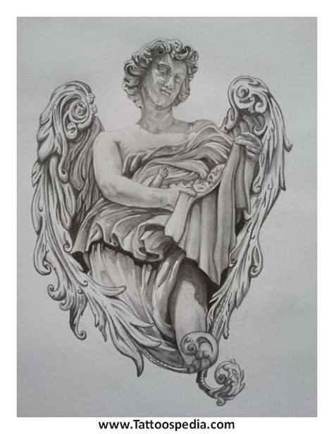 tattoo angel holding baby angel tattoos holding baby 3