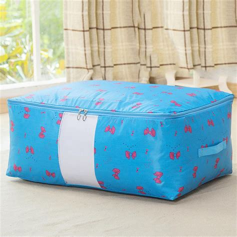 storage bags for comforters quality clothes bedding duvet handles laundry pillows