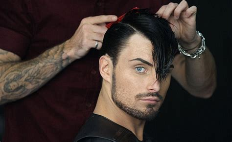 x factor s rylan clark gets another haircut as he is