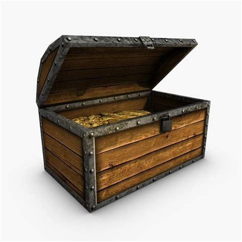 Max And Treasure Box by Chest Treasure 3d Max