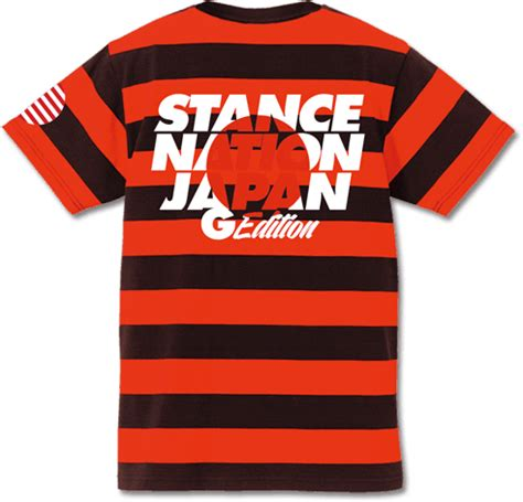 Tshirt Stance Nation Japan G Edition Bdc スタンスネイション ジャパン stancenation japan g edition 2016