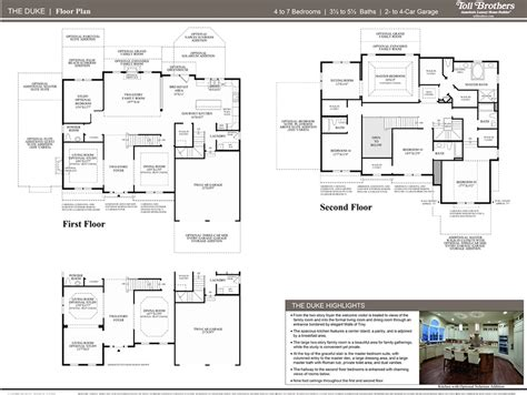 dominion homes floor plans 2nd floor floor plan