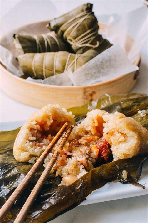 chinese tamales asian food pinterest more best zongzi cantonese style rice dumplings the woks of life