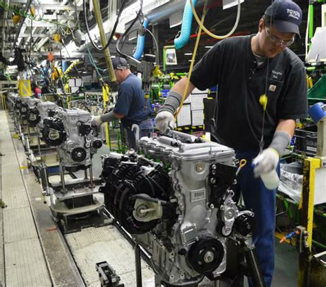 Toyota Plant Toyota Assembly Plant In Alabama Reaches Production Milestone
