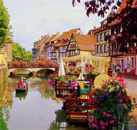 alsace france most beautiful town in france colmar in alsace