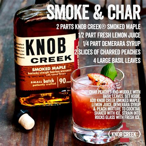 Knob Creek Drinks by Knob Creek Smoked Maple Review Bourbon Drinkwire
