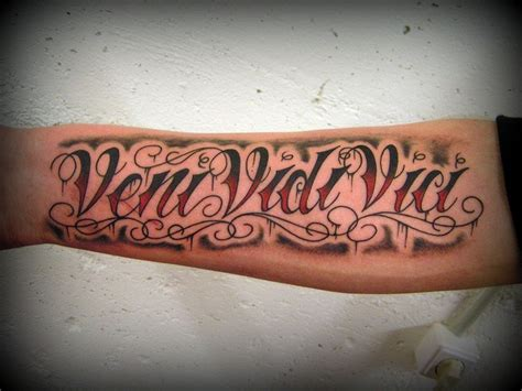 Guide To Choosing The 16 veni vidi vici tattoos with explained meaning tattoos win