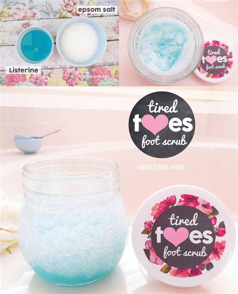 Handmade Scrubs - listerine foot scrub