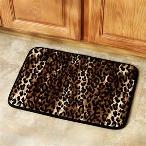 Leopard Bathroom Rugs Leopard Print Kitchen Accessories Home Design And Decor Reviews