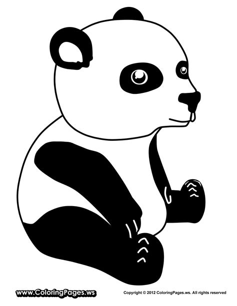 Panda Coloring Pages Only Coloring Pages Panda Colouring Pages