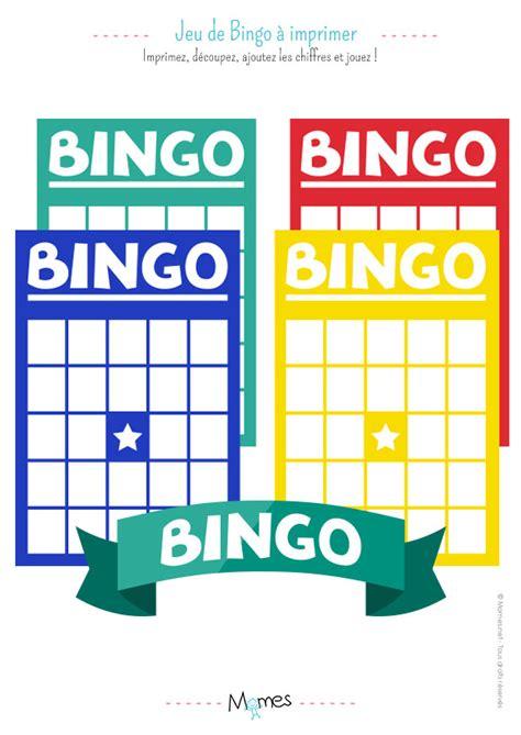 Grille De Bingo by Jeu De Bingo Momes Net