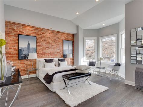 Bedroom Decor Usa 50 Delightful And Cozy Bedrooms With Brick Walls