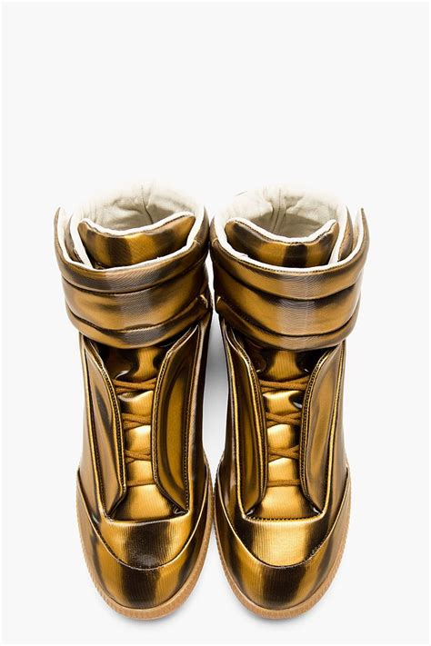 margiela sneakers gold 1000 images about shoes on high tops jordans