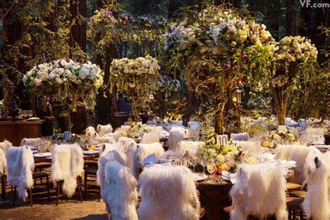 extravagant wedding  sean parker