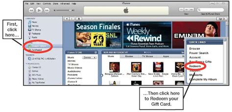 How To Add A Gift Card To Itunes - redeeming an itunes gift card iphone 4