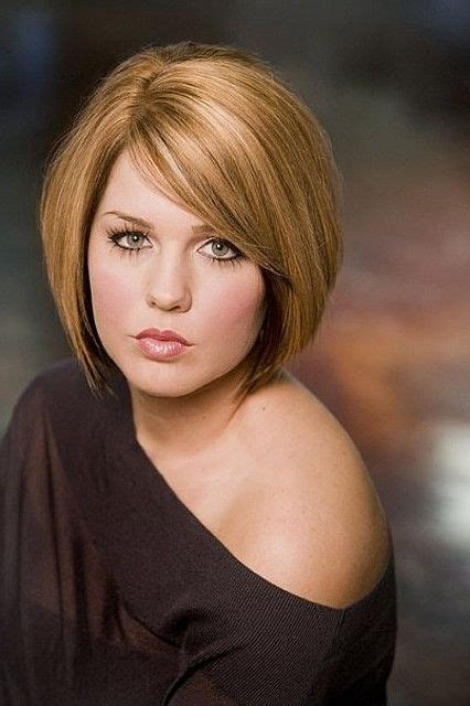haircuts for round face with names round full face women hairstyles for short hair bobs